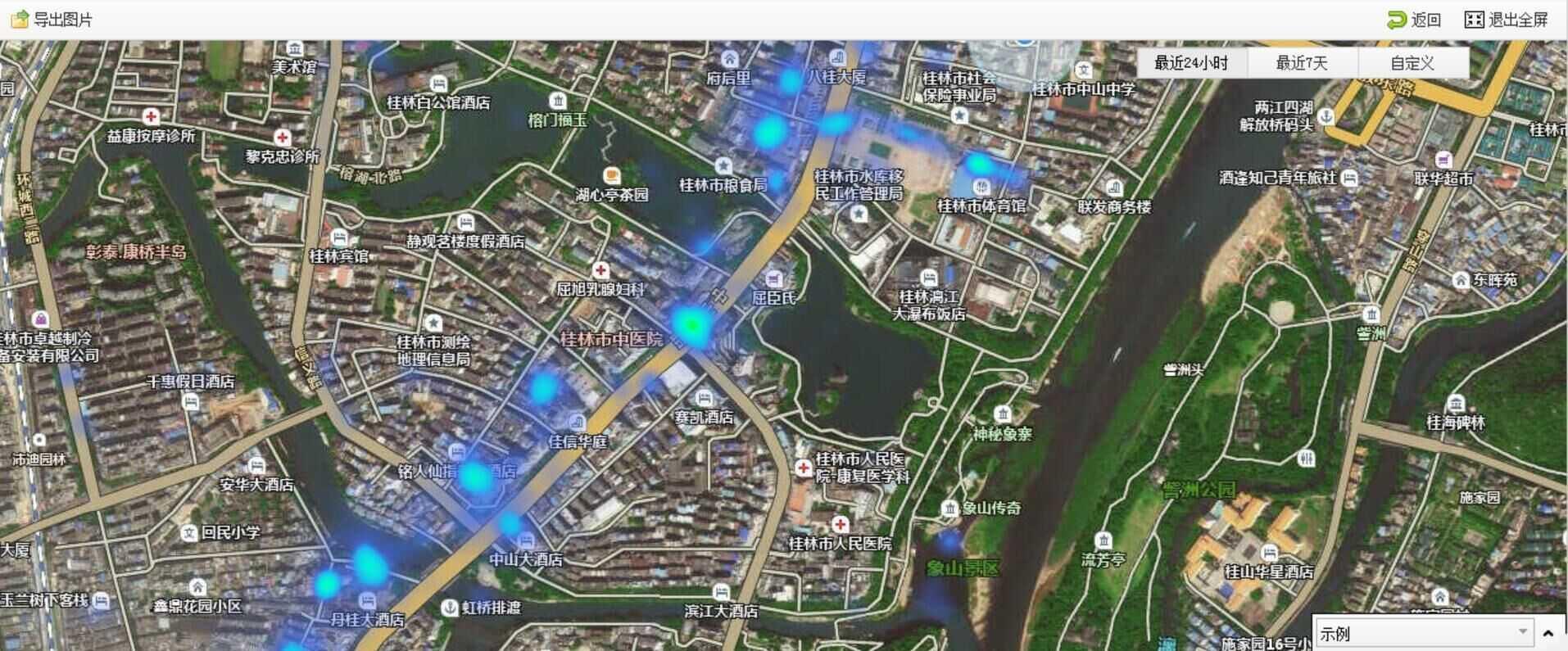 桂林无线城市覆盖图